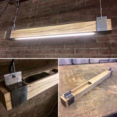 shop lighting click the image for lots of garage lighting ideas garage gara - Mode Ideen Garage Lighting, Shop Lighting, Lighting Design, Lighting Ideas, Kitchen Lighting, Industrial Furniture, Diy Furniture, Industrial Office, Diy Luz