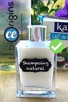 The Recipe For Shampoo That Smells Good And Foams (Ready In 1 Min Chrono! Diy Home Cleaning, Cleaning Hacks, Belleza Diy, Teen Money, Sent Bon, Take Care Of Your Body, Homemade Beauty Products, Smell Good, Diy Makeup