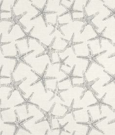 Premier Prints Sea Friends Coastal Gray Slub Fabric- for my upholstery project