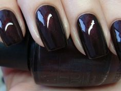 Fav Fall color, Midnight at Moscow by OPI <3 it!