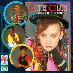 """1980s •~• Culture Club's second album, """"Colour By Numbers"""""""