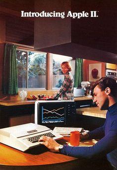 Apple Werbung  in den 80er Jahren