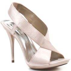 These look fab on  Tallie Sandal - Nude Satin Pu  Michael Antonio