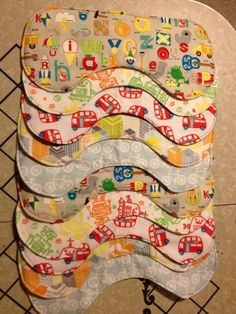 Easy Flannel Burp Cloths Tutorial from Making Good Choices