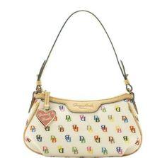 Dooney & Bourke Shiny IT Patty Pouchette Demi Bag Handbag
