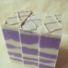 White Blueberry Handmade Soap