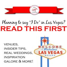 Interested In Planning A Wedding Las Vegas Start Here First Http