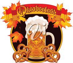 iCLIPART - Royalty Free Clipart Image of an Oktoberfest Logo #clipart #illustration #oktoberfest