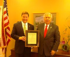 Today's #tbt is honoring my friend Rep Duwayne Bridges after he was named 2013 Legislator of the Year by AL Dept of VA.
