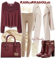#kamzakrasou #sexi #love #jeans #clothes #dress #shoes #fashion #style #outfit #heels #bags #blouses #dress #dresses #dressup #trendy #tip #new #kiss #kisses Bordová v šatníku - KAMzaKRÁSOU.sk
