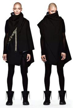 Futuristic fashion. The Black 01. | Outfits