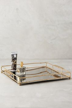 Brass Bamboo Tray #anthropologie