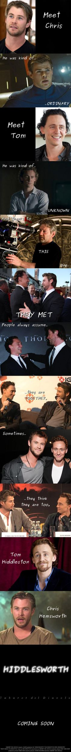 Hiddlesworth :) i dont know it u will really understand this but its still kinda funny if you don't fully get it