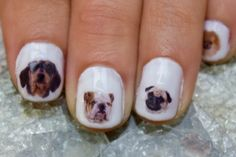 42 Dog Nail Decals. Include Shar Pei by obscuraoutfitters on Etsy, $8.00