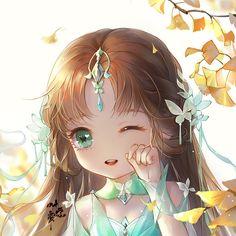 save = flow me (Trinh Nguyễn) Anime Chibi, Chibi Kawaii, Cute Chibi, Kawaii Anime Girl, Manga Anime, Anime Girls, Anime Angel Girl, Anime Girl Dress, Anime Art Girl