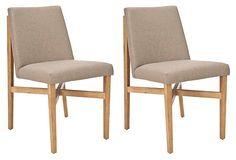 Duncan Side Chair, Pair on OneKingsLane.com