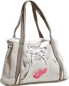 Littlearth Detroit Red Wings Hoodie Purse