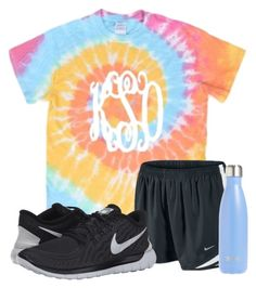 """I want a shirt like this"" by haileyhartley on Polyvore featuring NIKE and S'well"