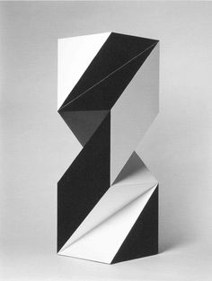 spatial contrast ratios / #sculpture #geometric #cubes / david bill