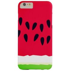 Juicy watermelon barely there iPhone 6 plus case - customizable diy