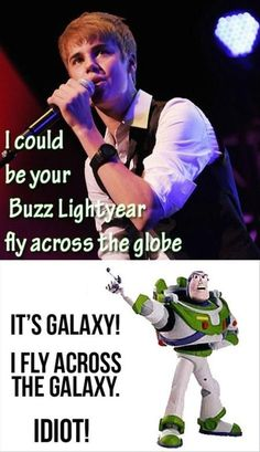 buzz lightyear, justin bieber, funny pictures