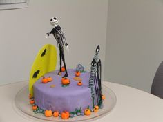 Unique Nightmare Before Christmas Cake