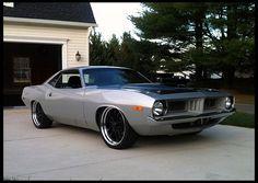 1973 Plymouth Cuda 360 CI yeoww