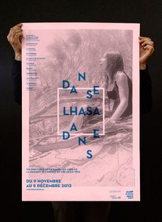 Danse Lhasa Danse Poster by Philippe Cossette, via Behance