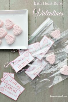 Bath Heart Burst Valentines | The NY Melrose Family
