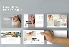 """Check out this @Behance project: """"Postcard Fashion"""" https://www.behance.net/gallery/44144639/Postcard-Fashion"""