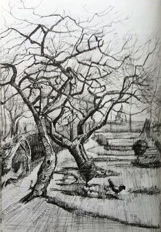 Image result for van gogh drawings