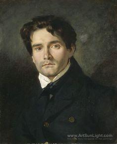 leon-riesener-french-painter-by-Eugene-Delacroix-011.jpg (652×800)