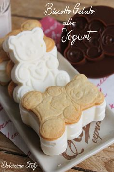 Biscotto Gelato allo Yogurt