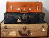 luggage for storage