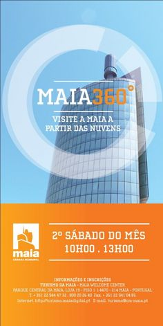 Diversos | Maia 360º |2.º sábado de cada mês | 10h00 às 13h00 | Maia