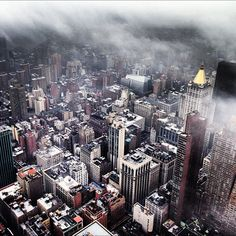 Foggy Day in NYC