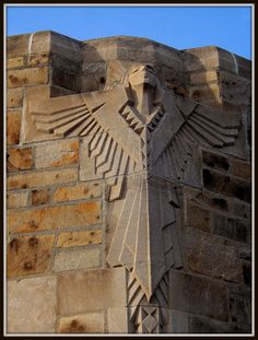 National Shrine of the Little Flower: Art Deco Angel Sculpture | by pinehurst19475