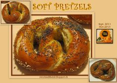 Sweet and That's it: Soft Pretzels - Laugen Bretzel Soft Pretzels, Your Recipe, Polenta, Bagel, Cornbread, Yummy Food, Fresh, Baking, Mondays