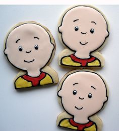 Caillou Cookies!
