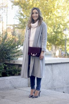 Gray Coat | BeSugarandSpice - Fashion Blog