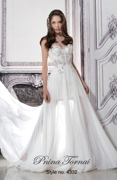 Pnina Tornai | Kleinfeld Trunk-show | November 13 - 23| Schedule Your Appointment And Meet The Designer