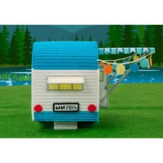 Mary Maxim - Retro Car and Camper Plastic Canvas Kits