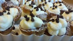 ✓FOOD.COM Mini Cannoli Cream Cups  YIELD 16 servings TOTAL TIME 30 mins CATEGORIES dessert, cupcake, nye2013, nye2014