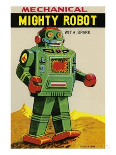Mechanical Mighty Robot Prints at AllPosters.com