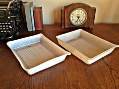Set of 2 plastic photography Developing Trays, Film Trays, Darkroom Development Trays, Film Accessories, Photo Developing by TheGarageOffice on Etsy