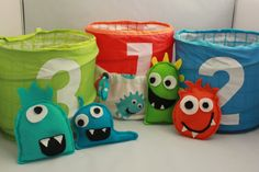 Monster Bean Bag Toss by ThatsSewFunBoutique