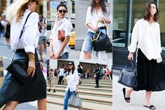 19 Not-So Basic White Shirts - White Shirts To Buy This Fall - Elle