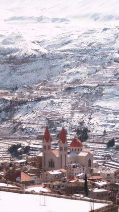 Bsharri (located in the Lebanese mountains). It is where Khalil Gibran was born