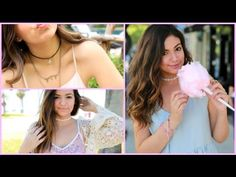 Easy & Quick DIY  Choker Necklaces! + How I wear them Super cute video from Bethany Mota's Youtube channel :)