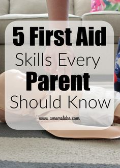 5 First Aid skills e